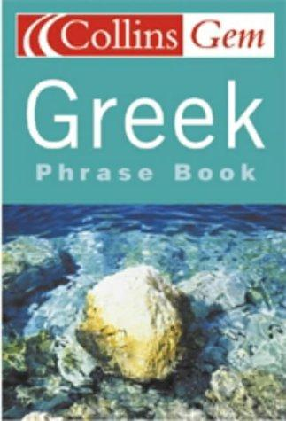 Greek Phrase Book (Collins GEM)