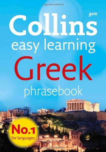 Collins Greek Phrasebook: The Right Word in Your Pocket (Collins Gem)