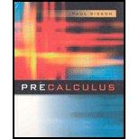 Pre Calculus - Textbook Only