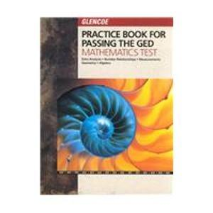 Practice Book for Passing the Ged Mathematics Test
