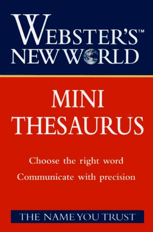 Webster's New World Mini Thesaurus