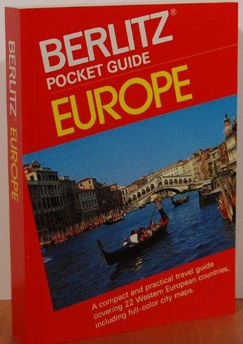 Europe (Berlitz travel guides)