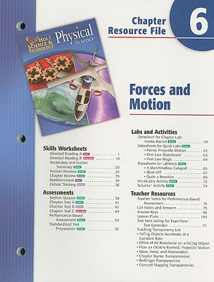 Holt Science and Technology: Physical Science: Forces in Motion