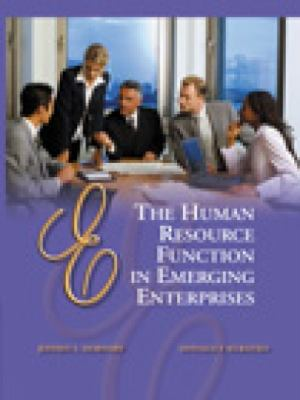 Human Resource Function in Emerging Enterprises