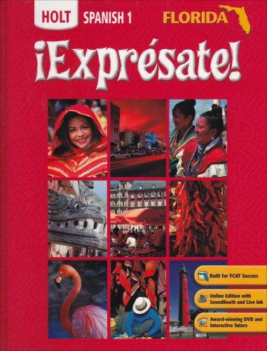 Expresate: Holt Spanish 1 (Florida Edition)