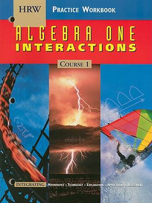 Algebra 1: Practice Workbook: Interactions