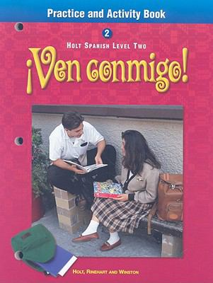 Ven Conmigo! Spanish Level 2 Practice and Activity Book
