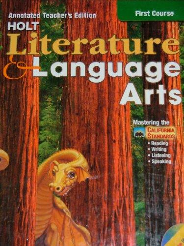 Holt Literature and Language Arts, First Course, Annotated Teacher's Edition