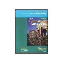 Holt Literature and Language Arts California: Universal Access Interactive Reader Grade 10