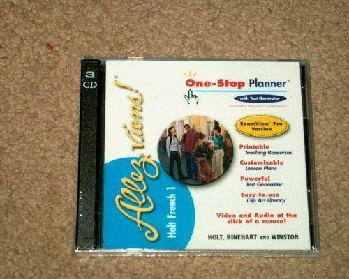 Allez Viens! French 1 One-Stop Planner CD-ROM set