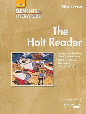 Elements of Literature Holt Reader, Grade 7  First Course