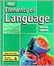 Elements of Language: Student Edition Grade 10 2004