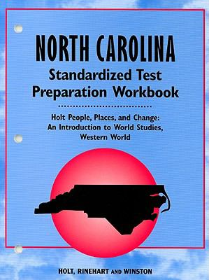 People, Places and Changes: Standard Test Preparation Workbook - North Carolina Edition
