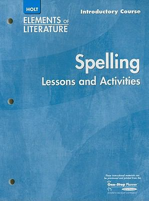 Elements of Literature: Spelling
