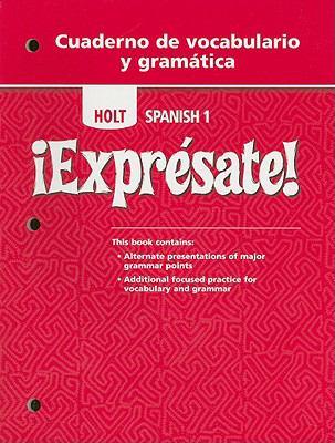 Expresate 2 Cuaderno De Vocaciones Holt Rinehart And Winston Staf Paperback