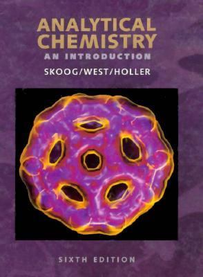 Analytical Chemistry An Introduction