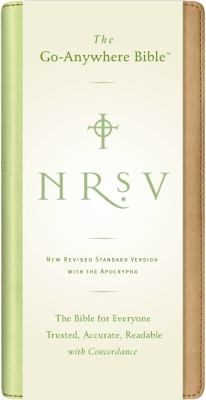 Holy Bible New Revised Standard Version, Tan/Green, Go-Anywhere, Nu Tone, With Apocryphal/Deuterocanonical Books