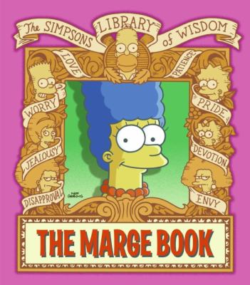 Marge Book: Simpsons Library of Wisdom