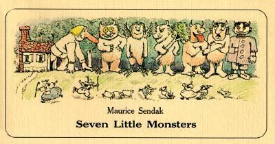 Seven Little Monsters - Maurice Sendak - Paperback - REISSUE