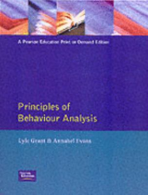 Principles of Behavior Analysis