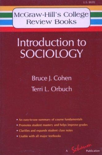 Introduction to Sociology (McGraw-Hill's College Review Books)