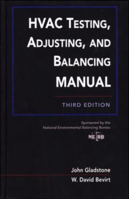 Hvac Testing, Adjusting, and Balancing Manual