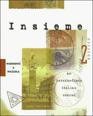 Insieme An Intermediate Italian Course