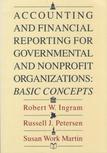 Accounting and Financial Reporting for Governmental and Nonprofit  Organizations
