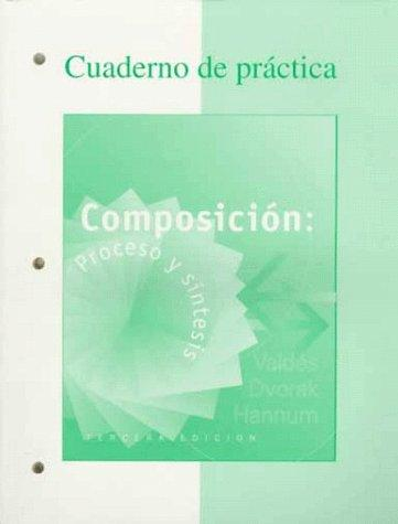 Workbook to accompany Composicion