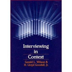 Interviewing In Context