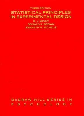 Statistical Principles in Experimental Design