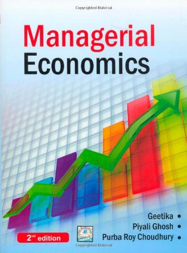 manegerial economics Managerial economics deals with the application of the economic concepts, theories, tools, and methodologies to solve practical problems in a business.