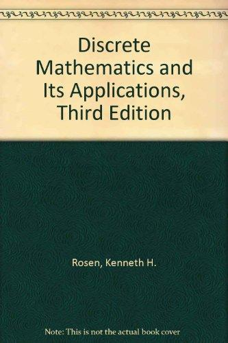 Discrete Mathematics and Its Applications, Third Edition