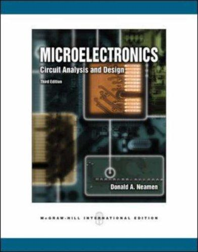 Microelectronics: Circuit Analysis and Design