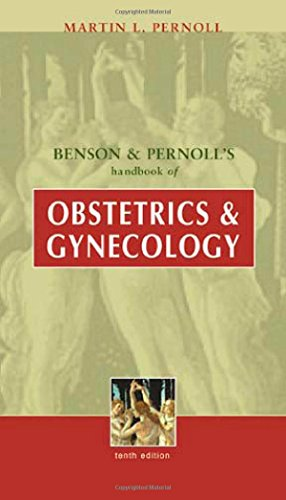 Benson and Pernoll's Handbook of Obstetrics and Gynecology