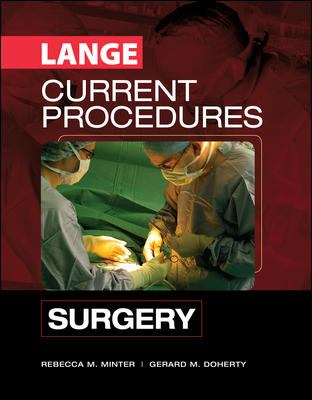 CURRENT Procedures Surgery (LANGE CURRENT Series)