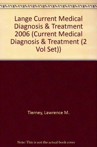 Current Medical Diagnosis & Treatment 2006/Current Essentials of Medicine Val Pack (Current Medical Diagnosis & Treatment (2 Vol Set))