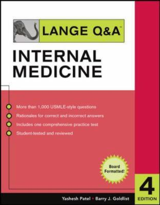 Lange Q&a Internal Medicine