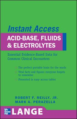 Instant Access Acid, Base, And Electrolytes