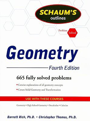 Schaum's Outline of Geometry, 4ed