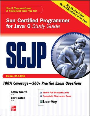 SCJP Sun Certified Programmer for Java 6 (Exam 310-065)