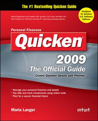 Quicken 2009: The Official Guide