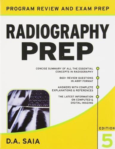 Lange Q&A for the Radiography Exam and Radiography PREP Val-Pack (LANGE Reviews Allied Health)
