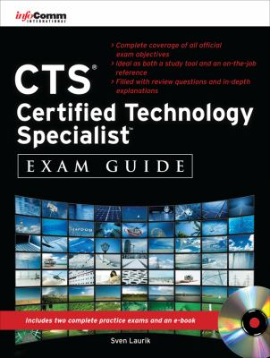 CTS Certified Technology Specialist Official Exam Guide