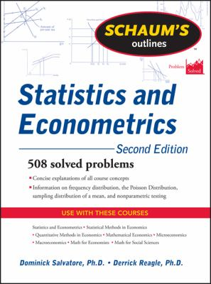 Schaum's Outline of Statistics and Econometrics, Second Edition (Schaum's Outline Series)