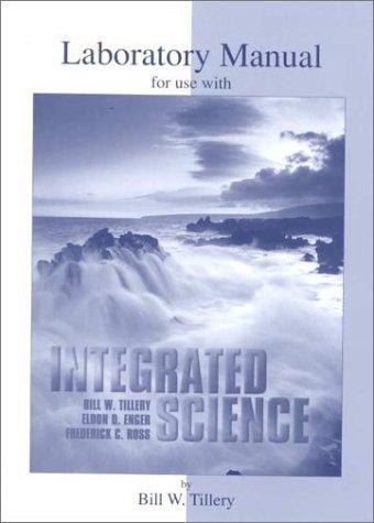 Lab Manual to accompany Integrated Science