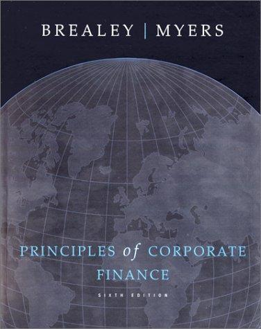 Principles of Corporate Finance (Text and CD-Rom)