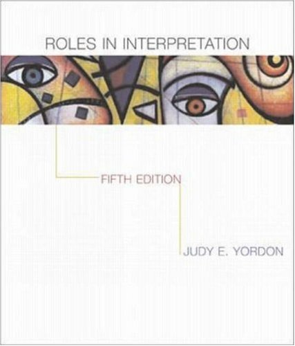 Roles in Interpretation