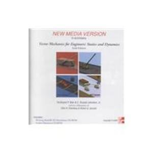 Vector Mechanics for Engineers: Dynamics, New Media Version with Problems Supplement