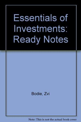 Ready Notes to accompany Essentials of Investments
